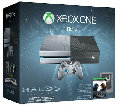 de toate : Xbox One 1TB Console - Limited Edition Halo 5: Gua...