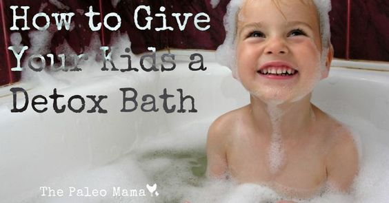 Why Give Your Kids a Detox Bath? To flush out toxins that have built up in our body. THIS is a great article on how and why we should take detox baths. To strengthen our immune system. To promote sleep and relaxation. Help muscles and nerves function properly. Great for growing kids. Helps promote concentration.