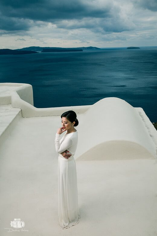 Santorini by Dimitris Vlaikos