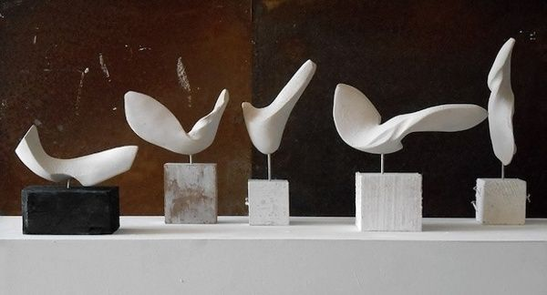 Sophie-Elizabeth Thompson (Soforbis) - Small Sculpture group 4,2,3,1,and 5 - (2013)