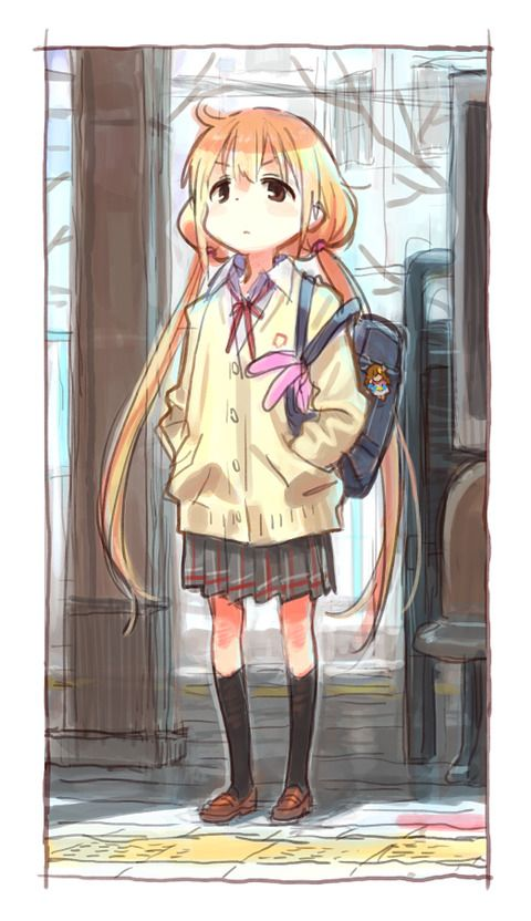 『デレマス』アニメキャラデザの人が落書きで描いた「双葉杏ちゃん」が可愛すぎる | やらおん!