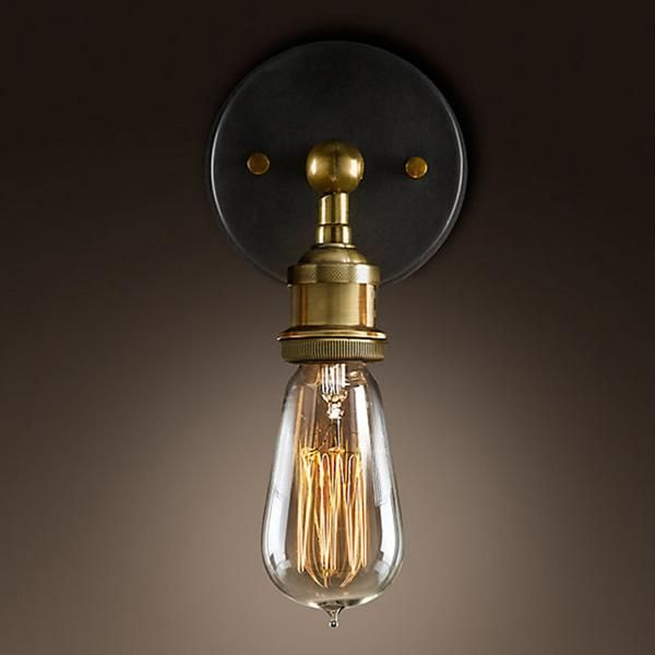 Modern Country Style Brass Wall Lamp Wall Lights Retro Industrial Wall Lights Wall Lamps Bedroom