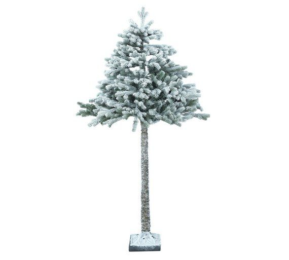 buy collection 6ft snowy half christmas tree at argoscouk visit argos - Christmas Tree Shop Online