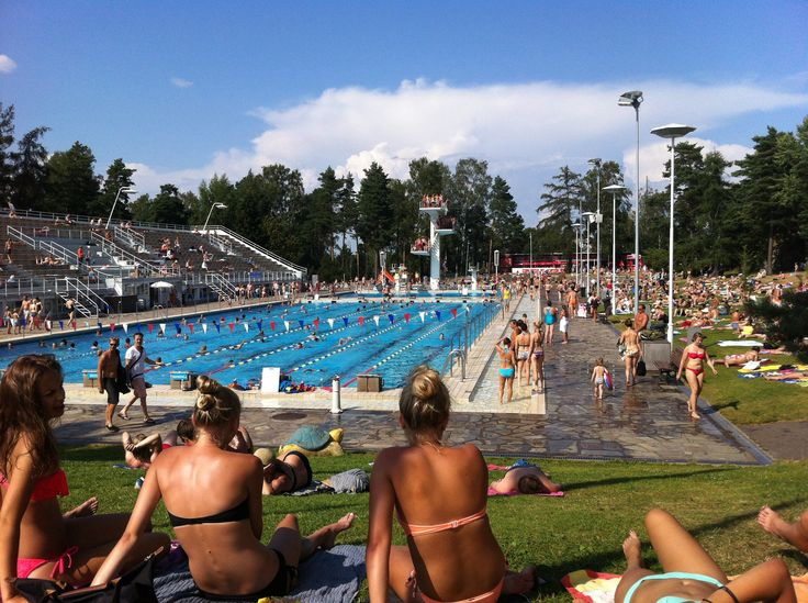 Uimastadion - open air swimming pool in #helsinki #stadikka open from May to September