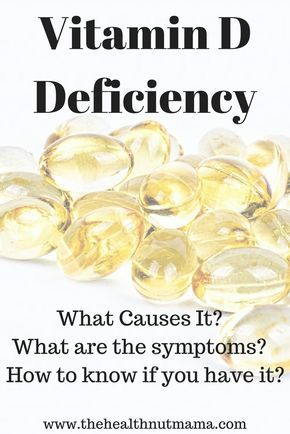 Vitamin D Deficiency- What causes it? What are the symptoms? What diseases are caused by it? www.thehealthnutmama.com