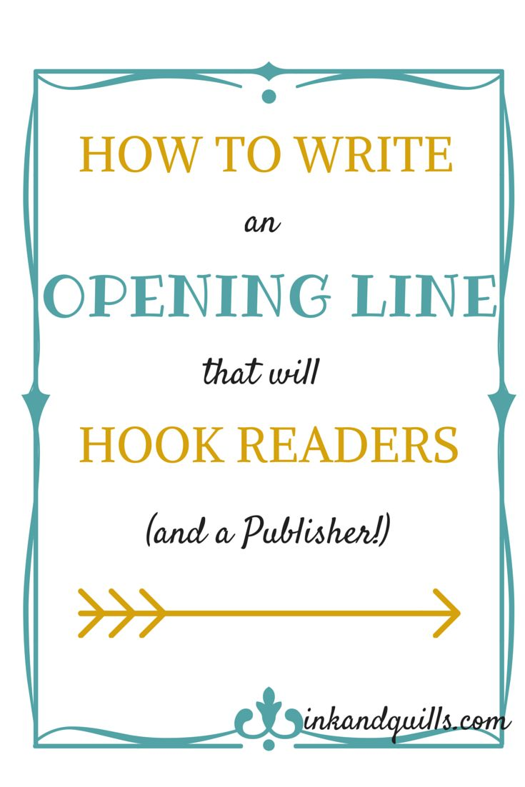 how to write a good first sentence short story