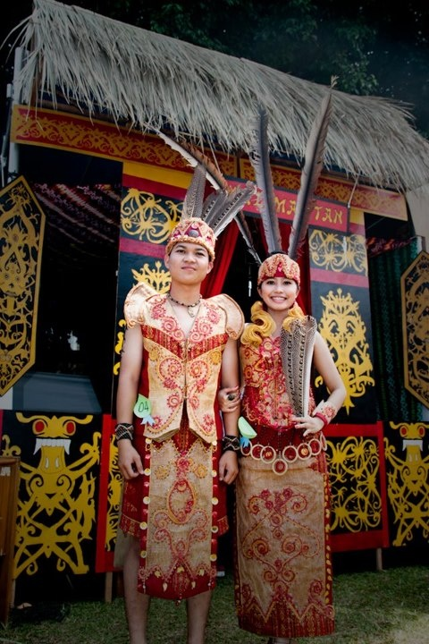 culture festival - dayak tribe