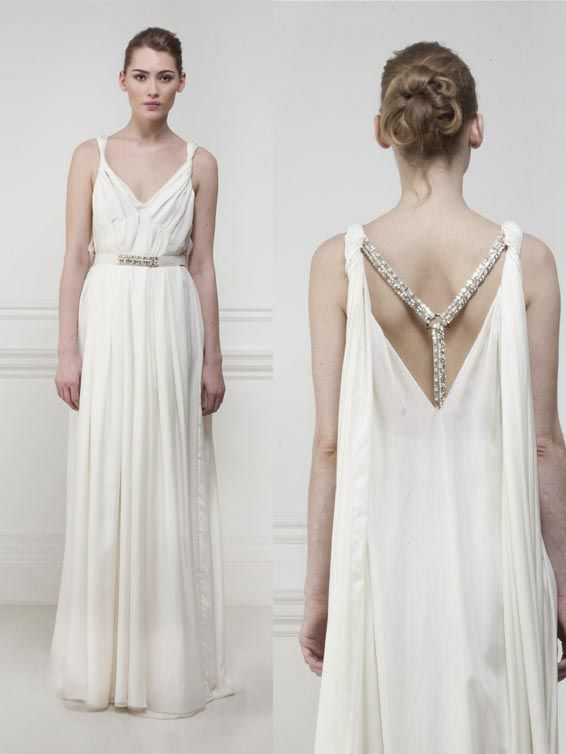 25 Best Ideas About Greek Wedding Dresses On Pinterest