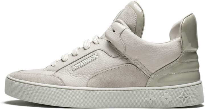 Louis Vuitton Don Kanye West Cream Yp6u1ppc In 2020 Louis Vuitton Vuitton Limited Edition Sneakers