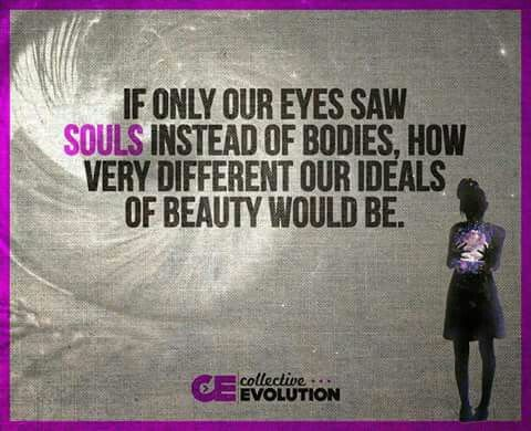 Keep the importance of inner beauty in mind