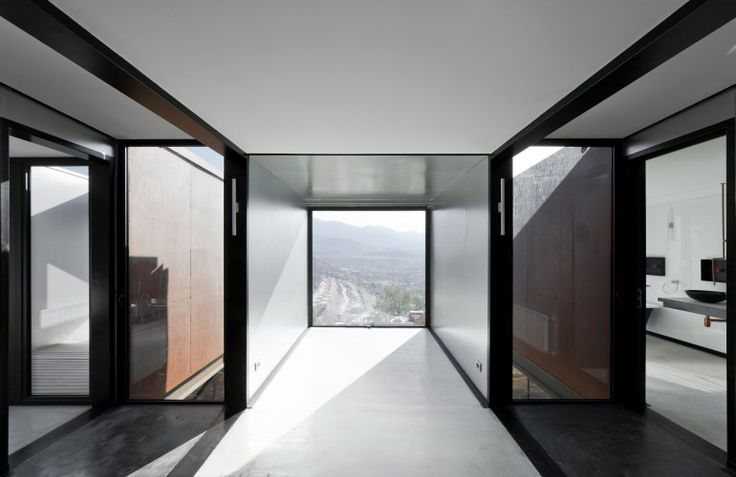 Rather than incorporate energy-consuming air-conditioning, Caterpillar House features pass...