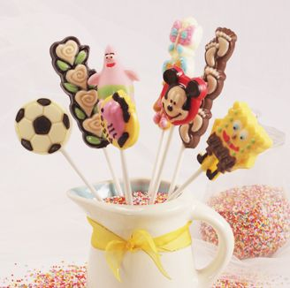 Our fancy lollipops are designed seasonally based on the latest trend or the upcoming event.