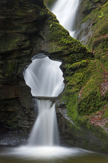 Merlin's Well by Adam Burton taken in St Nectan's Glen, Cornwall, England (Commended in Classic View category)