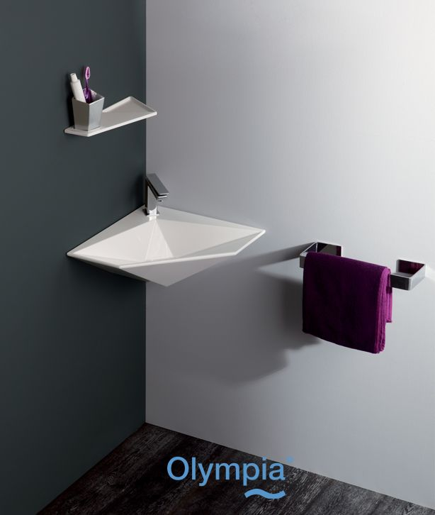 Crystal collection - Bathroom furniture - Olympia Ceramica  http://www.olympiaceramica.it/it/crystal/