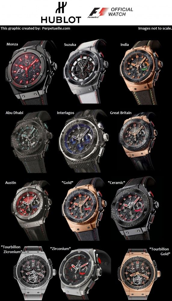 Hublot F1 King Power Collection Overview 1