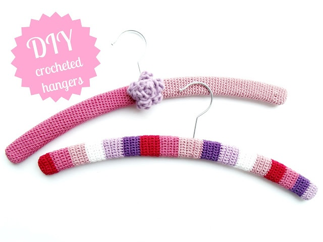 64 best images about crochet coathangers on pinterest for Creative clothes hangers