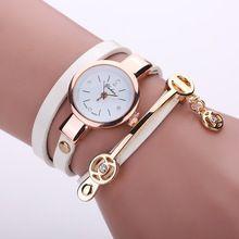 Divat Új nyári stílusban bőr alkalmi karkötő óra karóra Női ruha órák Relogios Femininos Watch Sun035 (Kína (szárazföld))