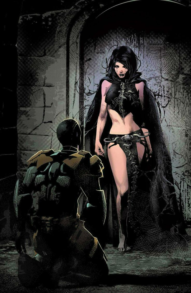 Thane and Death by Mike Deodato Jr