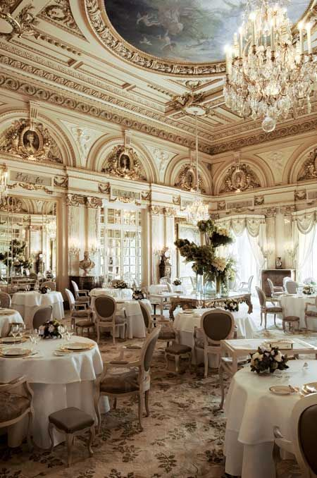 Hotel De Paris for lunch: