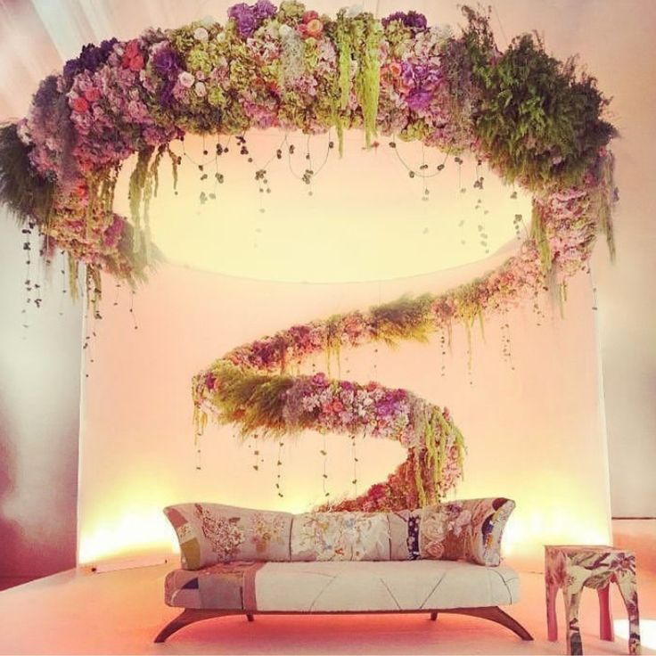 Add a splash of colour to any stage with a floral creation