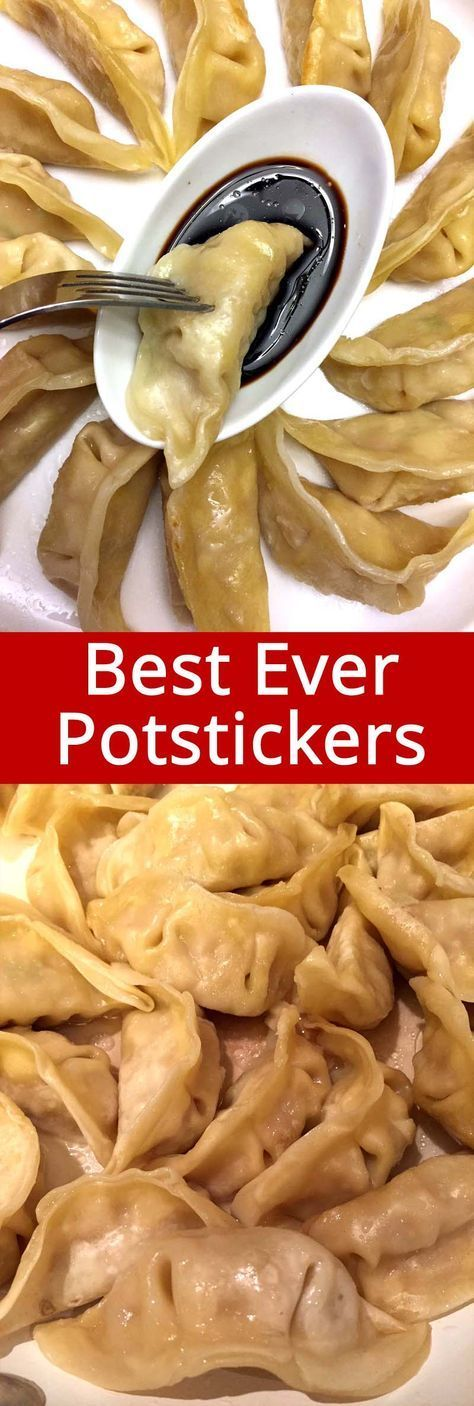 I love homemade potstickers! This recipe is so easy, I can have homemade chicken or pork potstickers any time now! Best potstickers ever!
