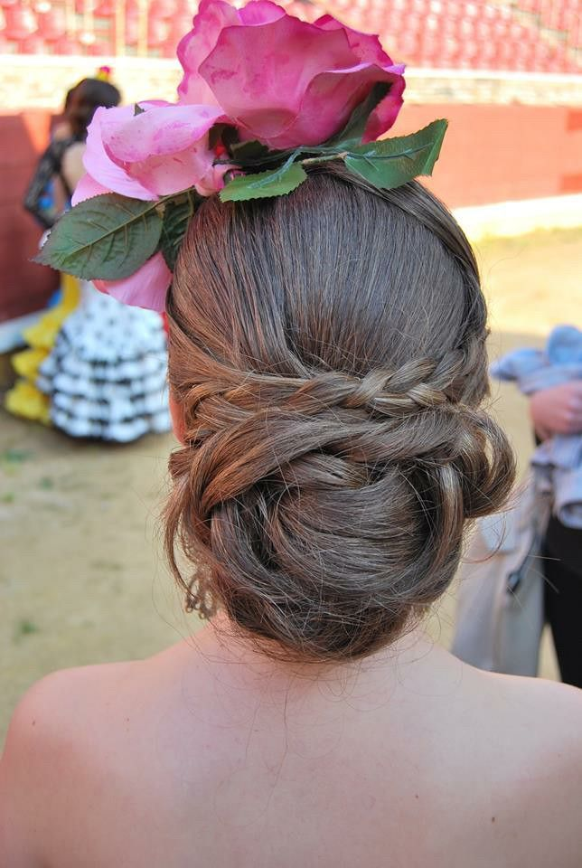 #Peinados flamenca para #Feria de Abril