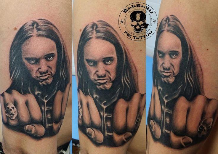 #tattoo #tattooist #tattooed #bestspaintattooartist #blackandgreytattoo #cliffburton #cliffburtontattoo #metallica #metallicatattoo