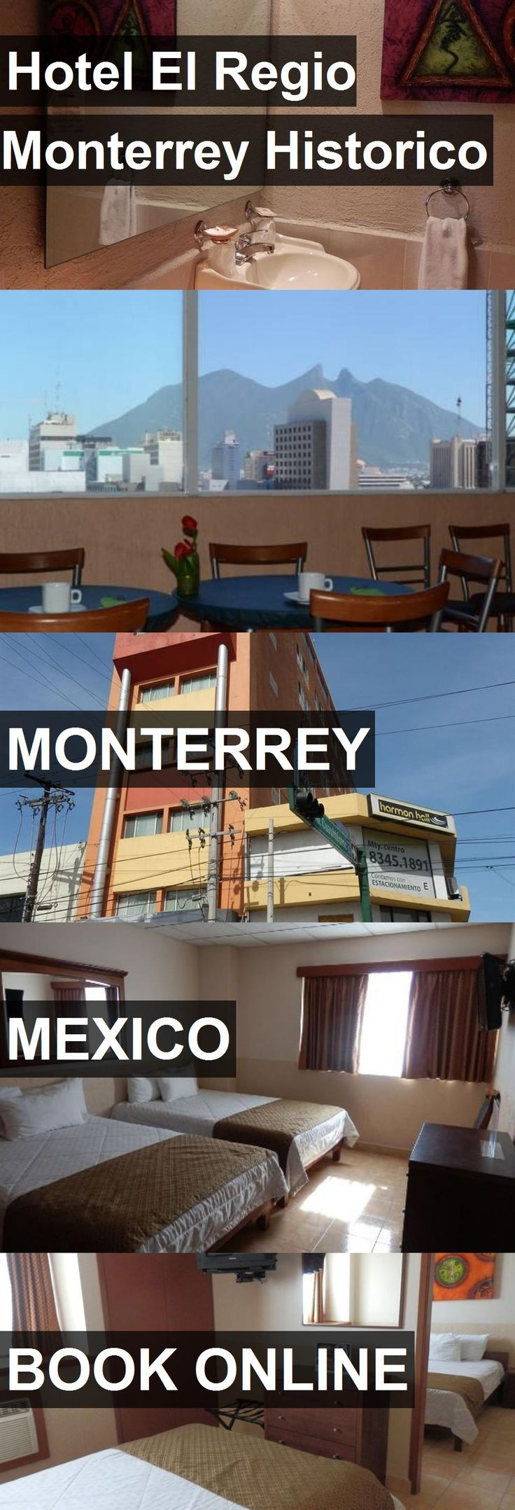 Hotel Hotel El Regio Monterrey Historico in Monterrey, Mexico. For more information, photos, reviews and best prices please follow the link. #Mexico #Monterrey #hotel #travel #vacation
