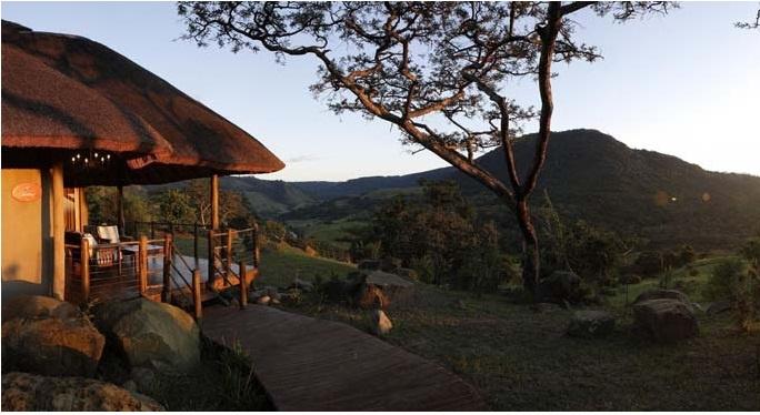 Karkloof Spa,Pietermaritzburg,South Africa: A cottage view