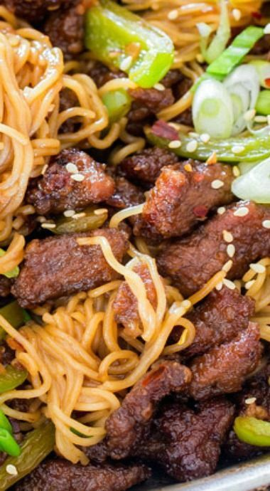 Mongolian Beef Ramen Noodles                                                                                                                                                                                 More