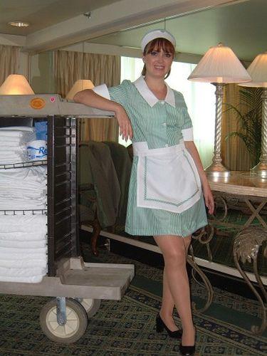 Amateur hotel maid