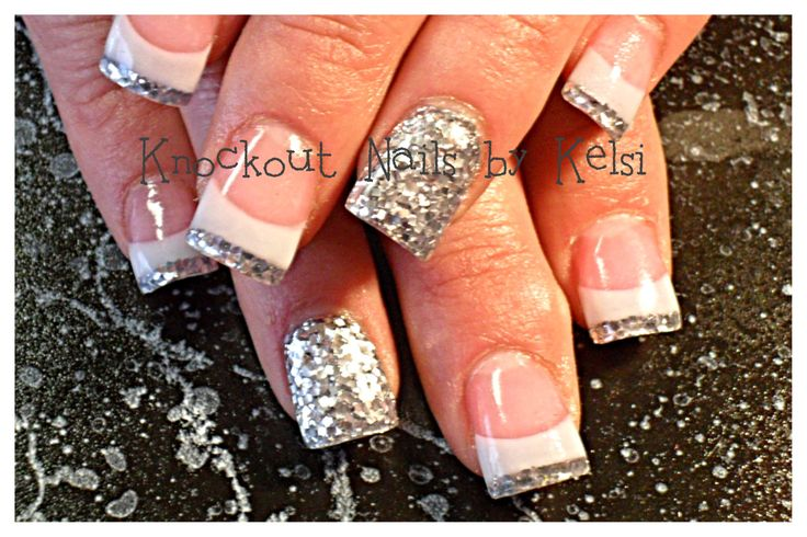 Acrylic nail art. facebook.com/knockoutnailsbykelsi