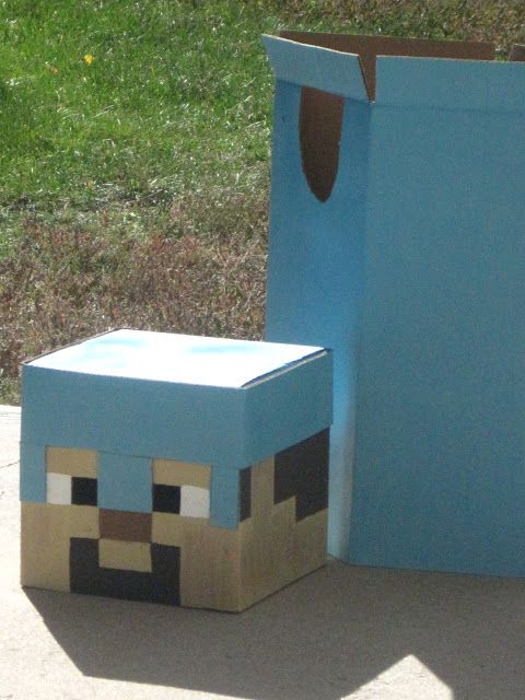Our Colorado Homefront: Minecraft Halloween Costume