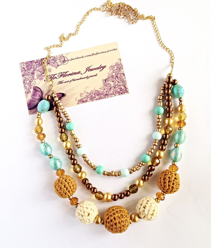Necklace handmade by FloFlorina Jewelry ( https://www.facebook.com/floflorina.jewelry )