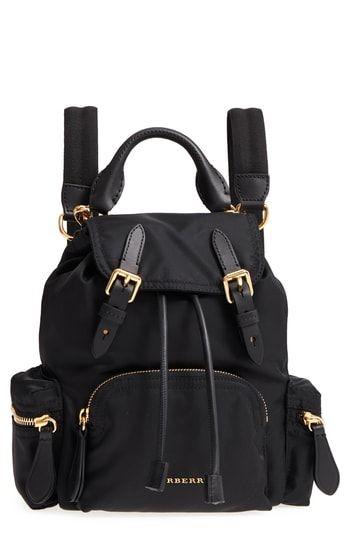6c6cd46c3678 Burberry Small Rucksack Nylon Backpack in 2019 | Stylish Backpacks ...