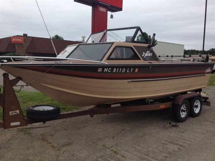 1986 21 ft sylvan fishing boat with for Sylvan fishing boats