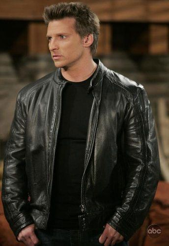 Steve Burton in General Hospital
