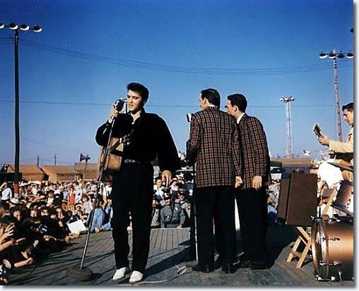 Elvis Presley 1956 - Tupelo, MS. Mississippi-Alabama Fairgrounds