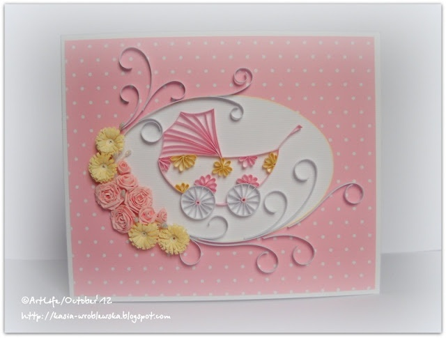 17+ images about Quilling- Baby...Kid Stuff on Pinterest Quilling, New babies and Baby carriage