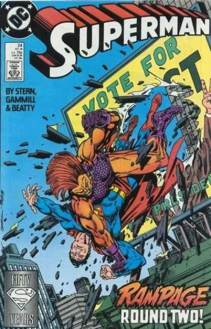 Kerry Gammill Art | Superman (1987)