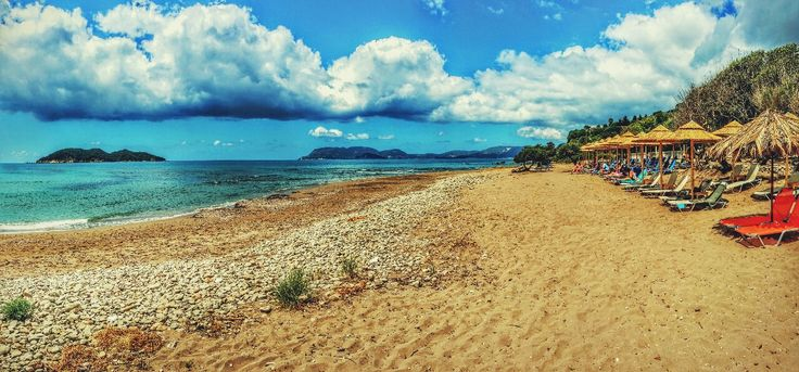 Dafni Beach overlooking Laganas bay on Zakynthos island Greece Photography by Alistair Ford