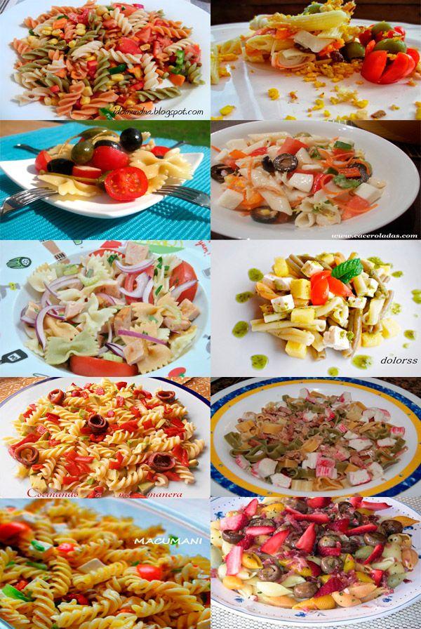 10 Recetas de Ensaladas de Pasta