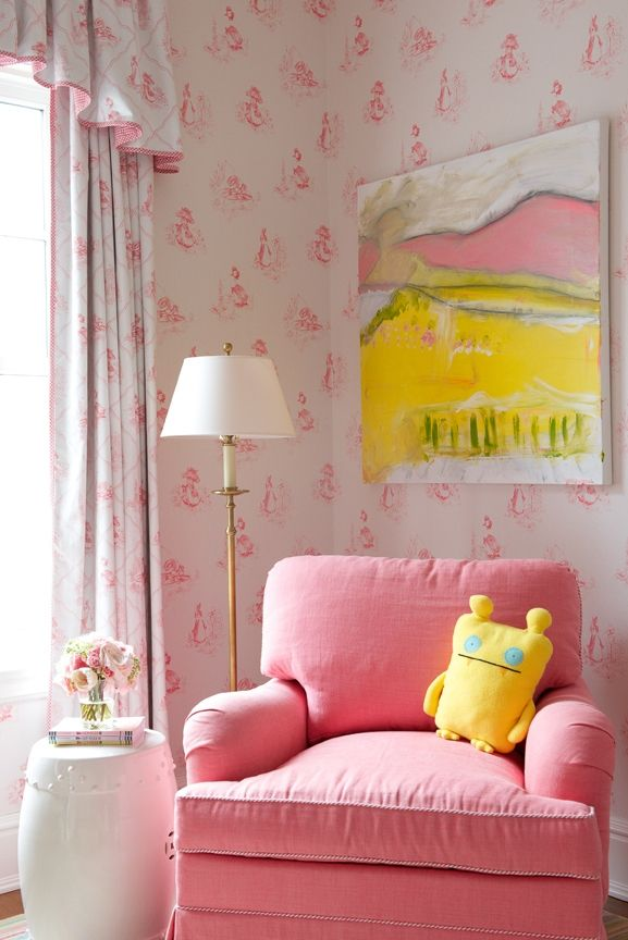 Sweet in pink & white/Kerry Hanson Design ~