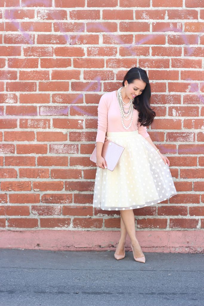 Tulle, Blush and Pearls (plus Nordstrom anniversary sale picks) - Stylish Petite