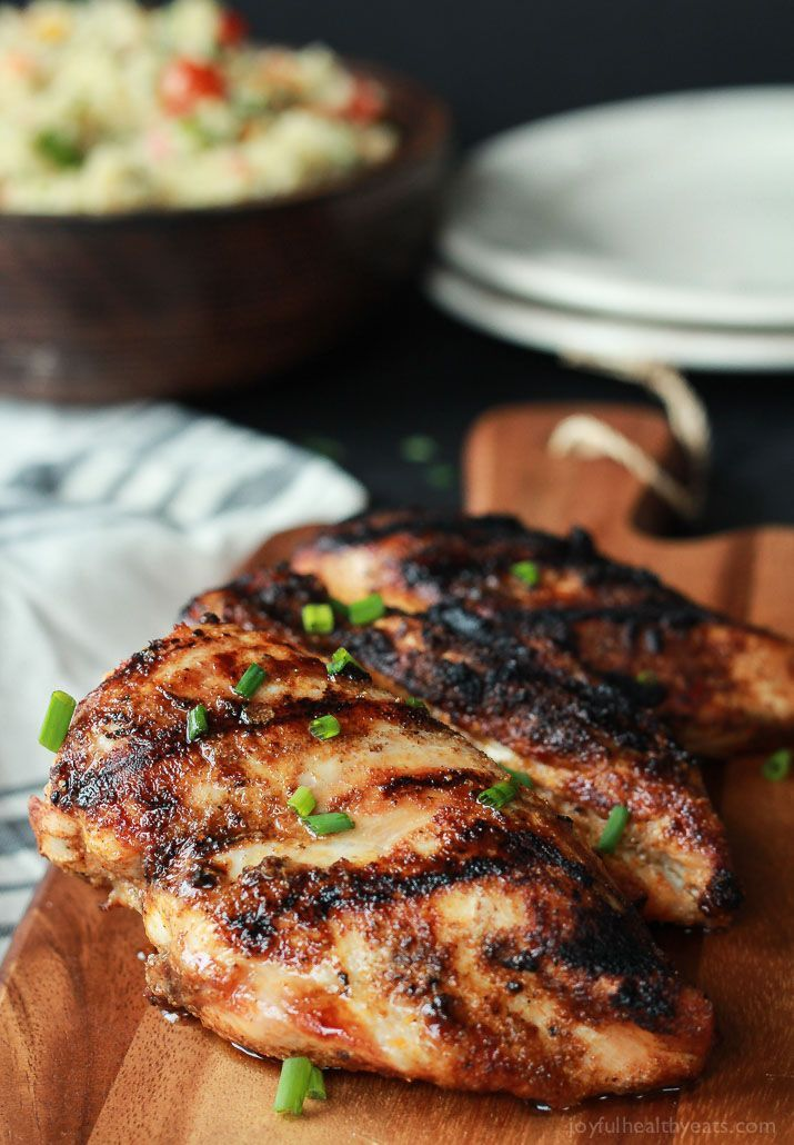The BEST Grilled Chicken Recipe with Spice Rub | Easy Healthy Recipes Using Real Ingredients