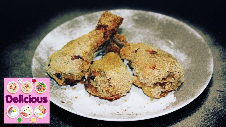 Homemade KFC Chicken Original Leg drumsticks - how to make original KFC ...
