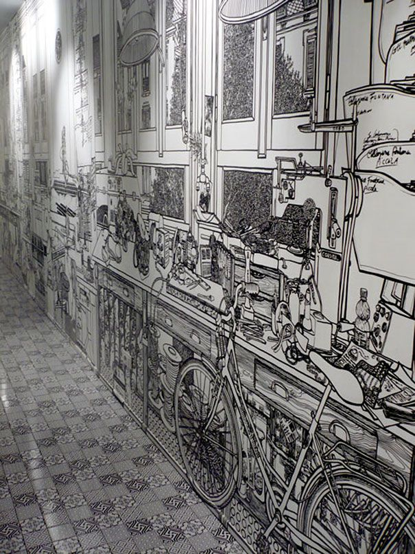 Marker-drawn Murals by Charlotte Mann | Just Imagine – Daily Dose of Creativity
