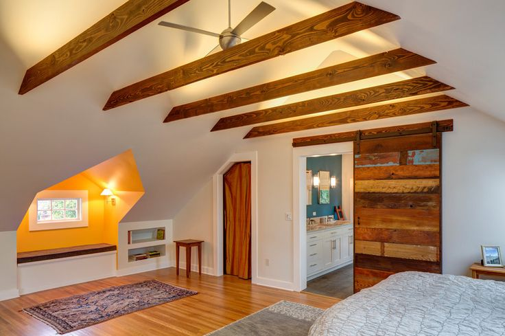This Attic Master Bedroom Is Exactly What We Need Upstairs All The Way Down To The Laundry