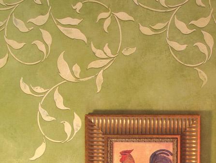 Attractive Large Decorative Wall Stencils Ornament - Wall Art Design ...