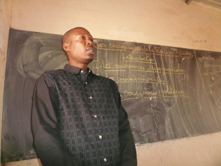 Le professeur d'Histoire